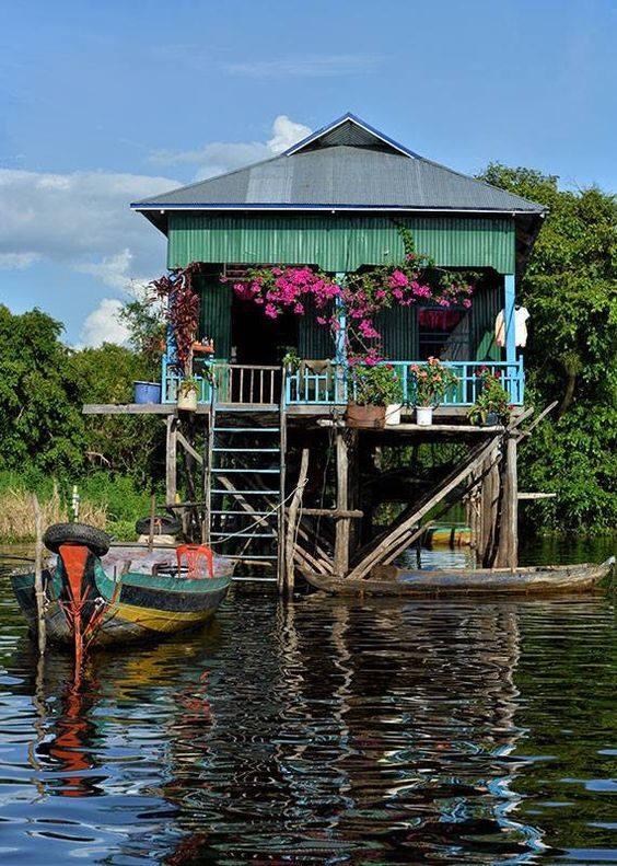 The Floating Village in Siem Reap