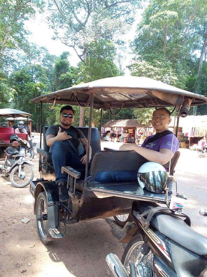 Siem Reap Tuk Tuk Driver