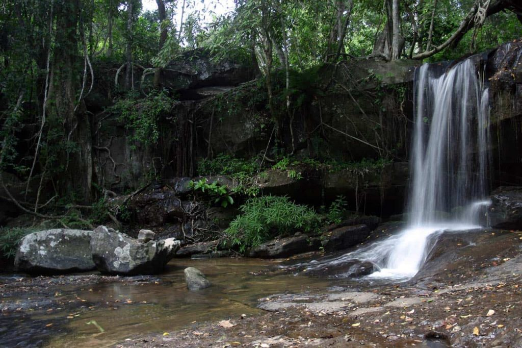 Kbal Spean Waterfall
